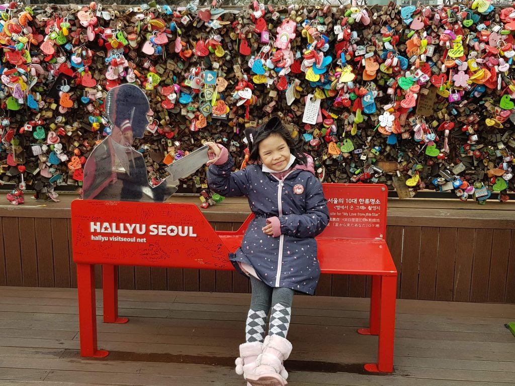LOVE LOCKS IN N. SEOUL TOWER, TEAM UY TRAVELS