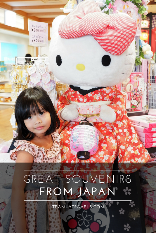 GREAT SOUVENIRS FROM JAPAN, TEAM UY TRAVELS
